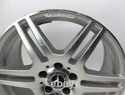 18Zoll Original Mercedes Classe E W212 S212 AMG Alliage A2124012402 9x18 ET54