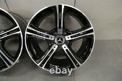18 Pouces Mercedes Classe E Coupé C207 Original Jantes A2074011602 A2074011702