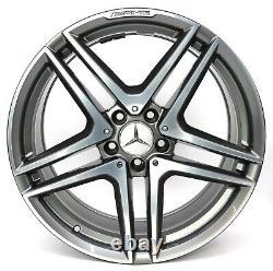 19Zoll Original Mercedes E63 W212 CLS63 C218 X218 AMG Alliage A2124010900 Ha 1