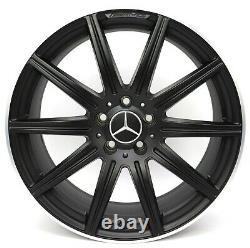 19Zoll Original Mercedes E63 W212 CLS63 C218 X218 AMG Alliage A2124015002 VA 2