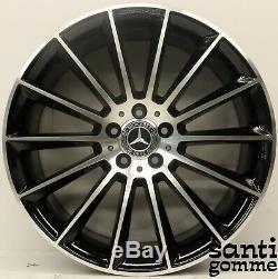 1 Jante Alliage 20 Mercedes CLS Original A2574011900 Noir Diamant
