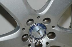 1 X Mercedes Classe C W205 Alliage 7J X 17 ET48,5 5x112 A2054015500 Original