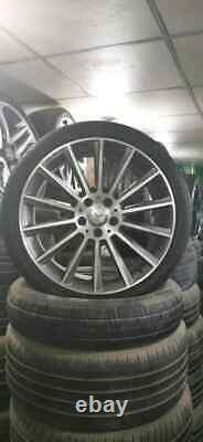 4 JANTES + PNEUS ORIGINAL Mercedes S W222 C117 20 OCCASION A2224010500 9.5JX20H2