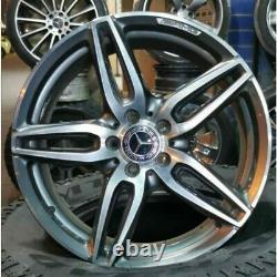 4 ORIGINAL AMG Mercedes Jantes19 A2134012000 w213 s213 238 OCCASION PARFAIT ETAT