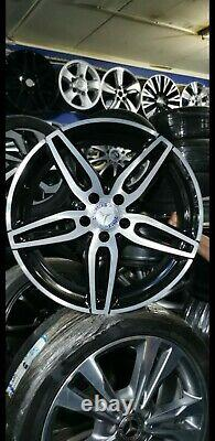 4 ORIGINAL AMG Mercedes Jantes Alu 8jx19h2 et43 a2134012000 w213 s213 238