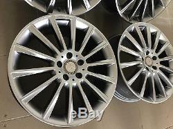 4 Orig. AMG Jantes 8,5 x 20 ET40 Mercedes Glc W253 W211 W212 R230 W218 W219