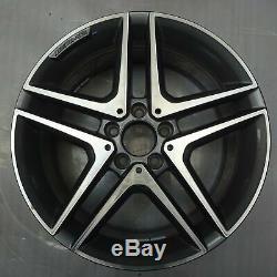 4 Original AMG Mercedes-Benz Jantes 8Jx18 ET48 A1764010000 Cla W176 C117 FM91