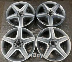 4 Original AMG Mercedes-Benz Jantes 9Jx20 ET57 A1664012002 Gle W166 ML FM92