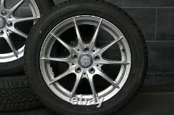 4 Original Mercedes A B w169 w245 Jantes en Alliage 6X16 ET46