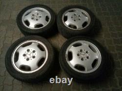 4 Original Mercedes Benz Classe A ALU 5,5J X 15H2 ET54 A1684010202 +pneus