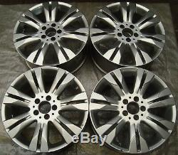 4 Original Mercedes-Benz Jantes 8.5Jx18 ET43 A2214017402 CLASSE S W221 F1155