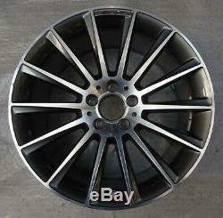 4 Original Mercedes-Benz Jantes 8.5Jx19 ET34.5 A2184011100 AMG CLS C218 X218