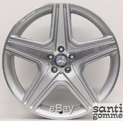 4 Roues Mercedes ML AMG 9 X 21 Original Repeinte A1644015302 A1644015202