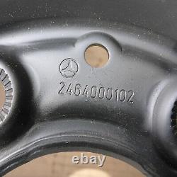 4 X Jantes Acier 16 Mercedes 5x112 6,5J Et49 Original Classe A Classe B