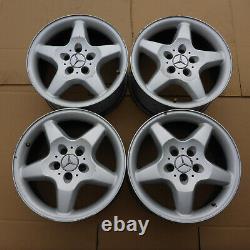 4 X Jantes en Alliage 17 Mercedes 5x112 8,5J Et52 ML Original USA
