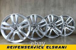 4x Original Mercedes-Benz Jantes 8,5 x 20 ET62 Pour Gl GLS X166 A1664011402