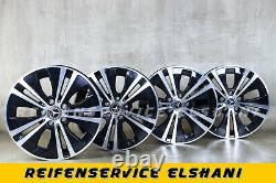 4x Original Mercedes Jantes 7,5 x 17 Classe E W213 S213 A238 C238 A2134015100