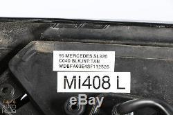 90-96 Mercedes R129 SL320 SL500 Côté Vue Rétroviseur Latéral Gauche Noir Oem