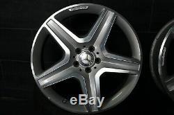 AMG Original Mercedes ML Classe ML Gle W166 9J X 20 Pouces Lk 5X112 A1664012002