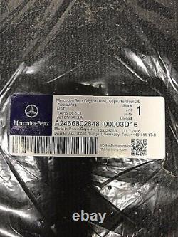 AMG Tapis de Sol Mercedes Classe A W176 Noir Avec Couture Rouge Neuf & Original