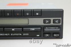 Becker Europe 2000 BE1100 Oldtimer Youngtimer Autoradio Radio Cassette Bronze