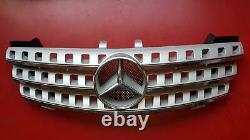 Calandre Argent Brillant Mat Paquet Sport Original Mercedes W164 ML 1648800885
