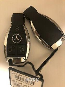 Clé Vierge Keyless Go Smart Key Mercedes Benz ORIGINALE W204 OEM FSB3 3 BOUTONS