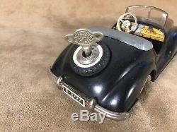Distler Mercedes Benz Cabriolet B 2727 Vintage Original Tinplate Model 1950 S