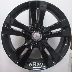 Jantes en Alliage Mercedes A Cla B 18 Original Noir Poli Remises A2464010402