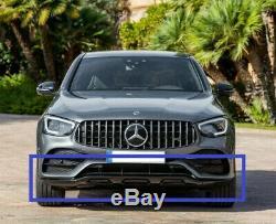 Lèvre de Spoiler Pare-Chocs avant + Mercedes Glc 43 AMG + Noir + A2538851304