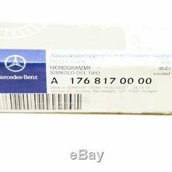 Logo Mercedes Amg Calandre A W176 A45 Amg Badge Emblème Original A1768170000