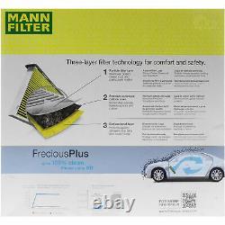 MANN-FILTER Set Mercedes-Benz Classe GLK X204 220 CDI 4matic 200 W212 E 300