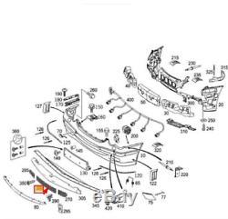 MB CLK A209 avant Pare-Choc Inférieur Grille A20988500539 040 Neuf Original