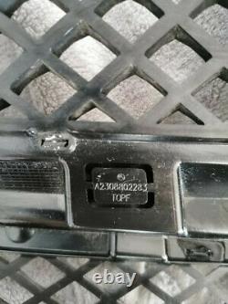 MB Sl R230 Avant Pare-Choc Radiateur Grille A2308802283 Original
