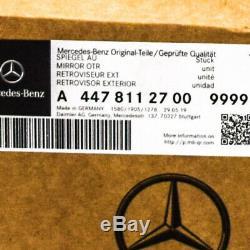 MB Vito W447 avant Droit Porte Miroir Bouchon A4478112700 9999 Neuf Original