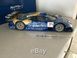 MERCEDES BENZ CLK GTR FIA GT1 1998 Original Teile 1/12 AUTOart