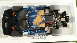 MERCEDES BENZ CLK GTR ORIGINAL TEILE # 12 FIA GT 1998 BOUCHUT 1/12 AUTOart 12011