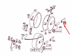 MERCEDES-BENZ Classe G W463 Rechange Pneu Étui Emblème A4638901744 Neuf Original