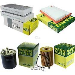 Mann-filter Inspection Set MERCEDES-BENZ M-CLASSE W164 ML 320 CDI 4matic
