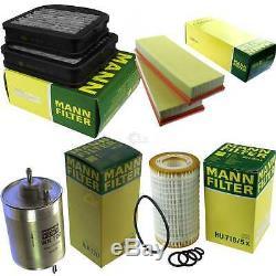 Mann-filter Set MERCEDES-BENZ CLASSE S W220 S 500 55 AMG Coupé C215 CL
