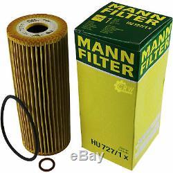 Mann-filter Set Mercedes-Benz Classe-C Coupé CL203 C 200 Compresseur 230
