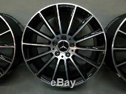 Mercedes Benz 19 Pouces Original Jantes Classe C AMG W205 S205 A2054011400 Neuf