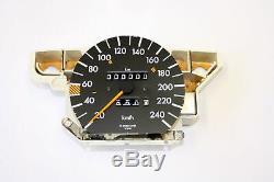 Mercedes-Benz A0095423706 Compteur de Vitesse W126 380 Se / Sel Original Partie
