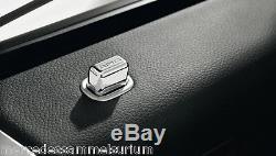Mercedes Benz AMG Original 4x Porte Épinglette Carré W / V 140 CLASSE S Neuf Ovp