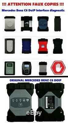 Mercedes Benz C6 DoIP Xentry Diagnostic OEM interface original VCI obd2