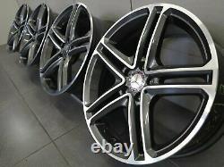 Mercedes Benz CLS Coupé C257 Original 19 Pouces Jeu de Jantes A2574011200 Jantes