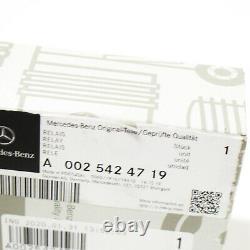 Mercedes-Benz Classe E W211 Batterie Relais A0025424719 Neuf Original