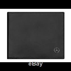 Mercedes Benz Original Porte-Cartes Étui Pince A Billet Ridf Cuir Neuf Emballage