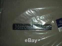Mercedes Benz Original Velours Sol R 230 Sl 2001-2006 LHD Gris Alpaga Neuf