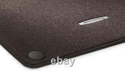 Mercedes Original Tapis de Sol Velours W 222 CLASSE S Court LHD Espresso Brown